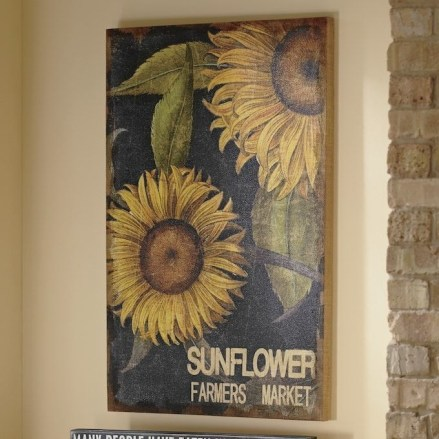 Cool Wood Sunflower Wall Decor Ideas That You Need To Try 15