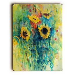 Cool Wood Sunflower Wall Decor Ideas That You Need To Try 20