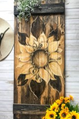 Cool Wood Sunflower Wall Decor Ideas That You Need To Try 33