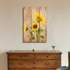 Cool Wood Sunflower Wall Decor Ideas That You Need To Try 35