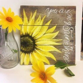Cool Wood Sunflower Wall Decor Ideas That You Need To Try 38
