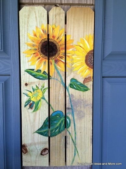 Cool Wood Sunflower Wall Decor Ideas That You Need To Try 46