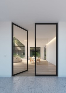 Incredible Glass Doors Ideas For Exterior Design To Try Today 21