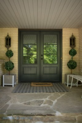 Incredible Glass Doors Ideas For Exterior Design To Try Today 27