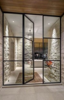 Incredible Glass Doors Ideas For Exterior Design To Try Today 30
