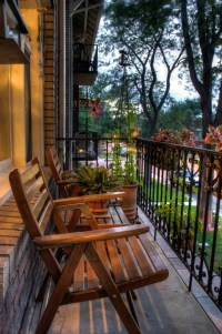 Incredible Small Apartment Balcony Design Ideas On A Budget To Try Asap 03