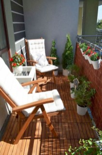 Incredible Small Apartment Balcony Design Ideas On A Budget To Try Asap 32