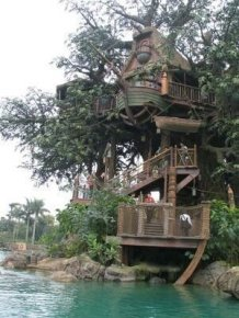 Inspiring Tree House Design Ideas For Wedding To Have 13