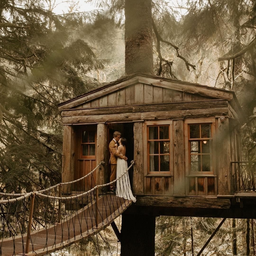 Inspiring Tree House Design Ideas For Wedding To Have 23