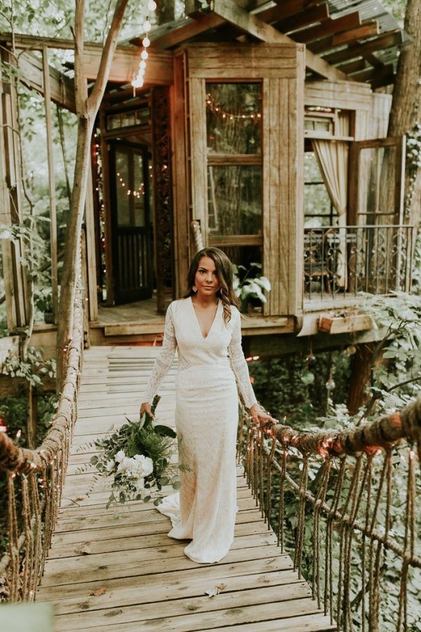 Inspiring Tree House Design Ideas For Wedding To Have 26