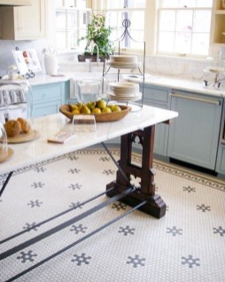Lovely Floor Kitchen Tile Design Ideas That Make You Amazed 03