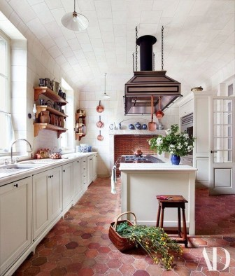 Lovely Floor Kitchen Tile Design Ideas That Make You Amazed 15