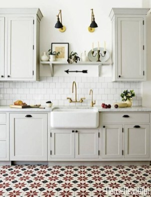 Lovely Floor Kitchen Tile Design Ideas That Make You Amazed 35
