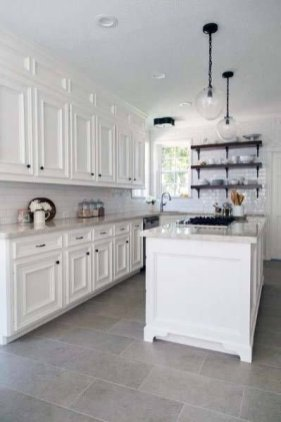 Lovely Floor Kitchen Tile Design Ideas That Make You Amazed 44
