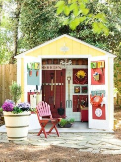 Marvelous Diy Backyard Shed Design Ideas That You Have To Know 08