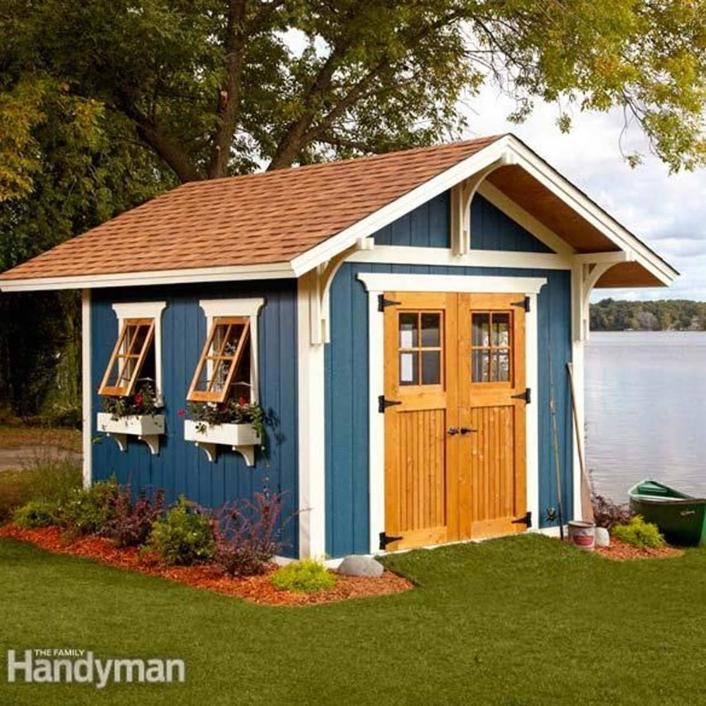Marvelous Diy Backyard Shed Design Ideas That You Have To Know 25