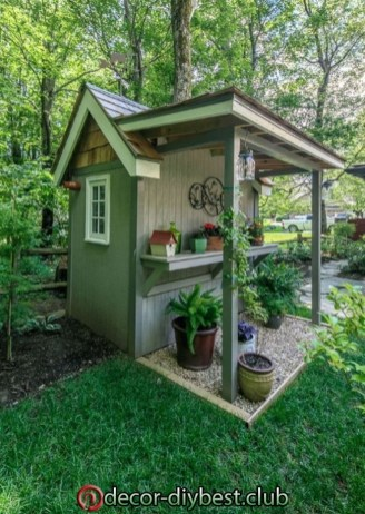 Marvelous Diy Backyard Shed Design Ideas That You Have To Know 42