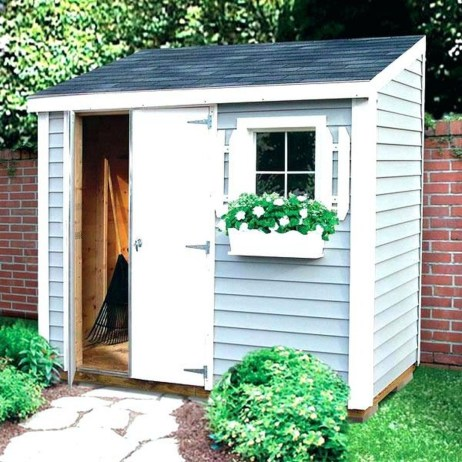 Marvelous Diy Backyard Shed Design Ideas That You Have To Know 43