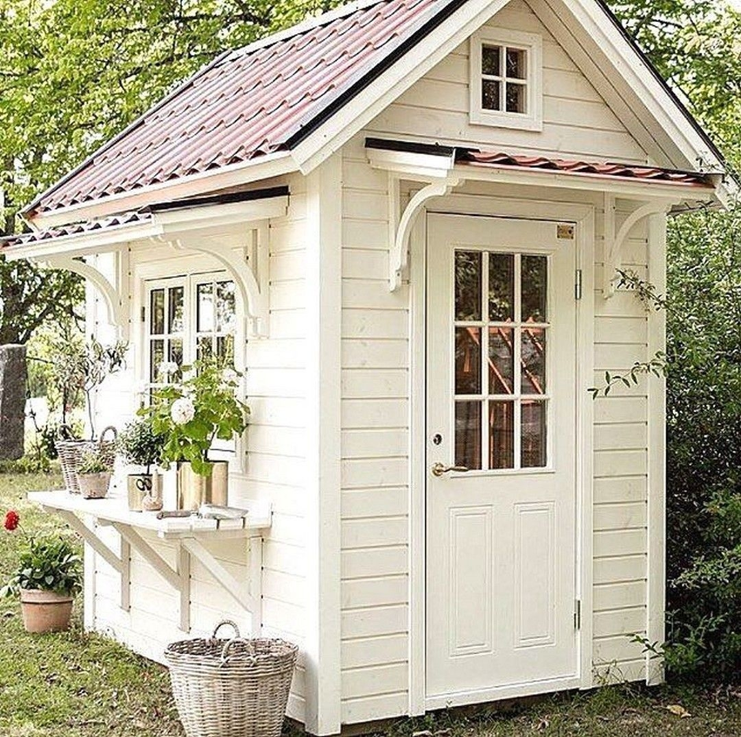 Marvelous Diy Backyard Shed Design Ideas That You Have To Know 48