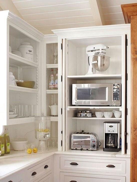 Perfect Hidden Storage Design Ideas For Best Kitchen To Try Asap 37