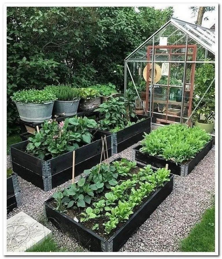 Rustic Vegetable Garden Design Ideas For Your Backyard Inspiration 25