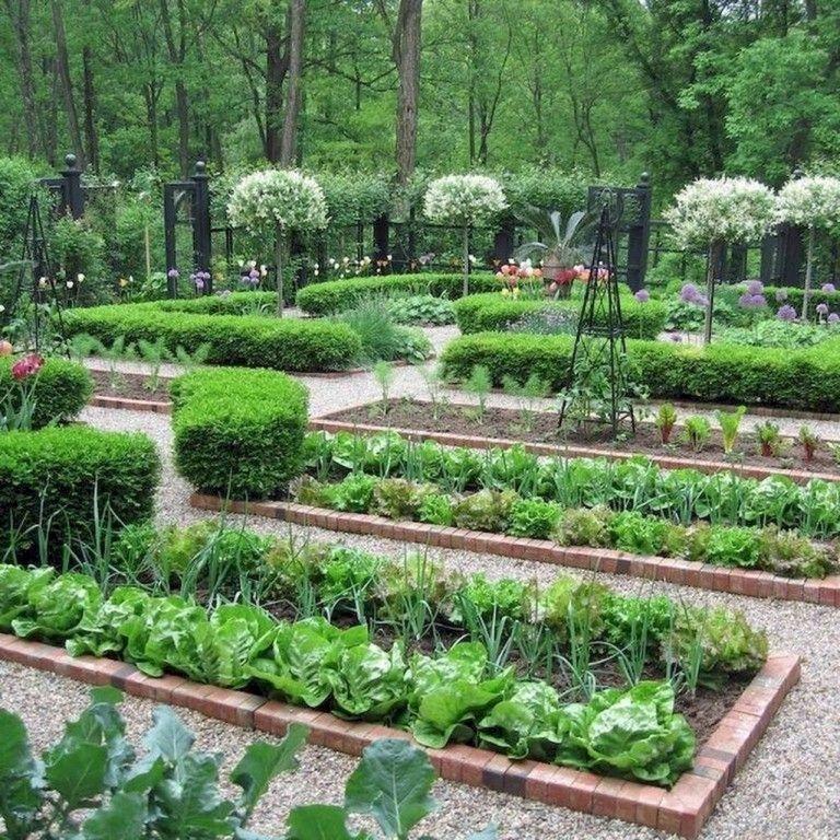 Rustic Vegetable Garden Design Ideas For Your Backyard Inspiration 33