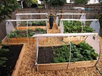 Rustic Vegetable Garden Design Ideas For Your Backyard Inspiration 35