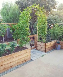 Rustic Vegetable Garden Design Ideas For Your Backyard Inspiration 47