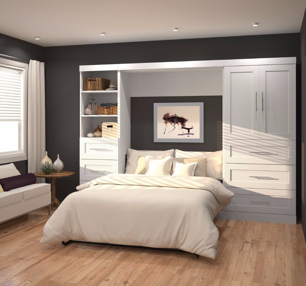 Stylish Bedroom Design Ideas With Tv Wall To Try Asap 07