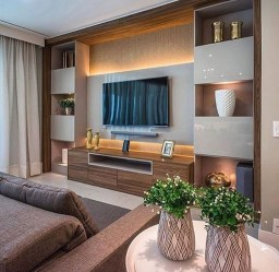 Stylish Bedroom Design Ideas With Tv Wall To Try Asap 08