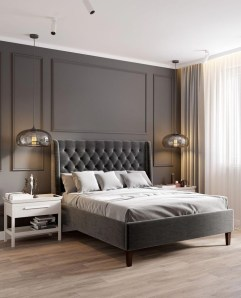 Stylish Bedroom Design Ideas With Tv Wall To Try Asap 17