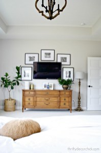 Stylish Bedroom Design Ideas With Tv Wall To Try Asap 19