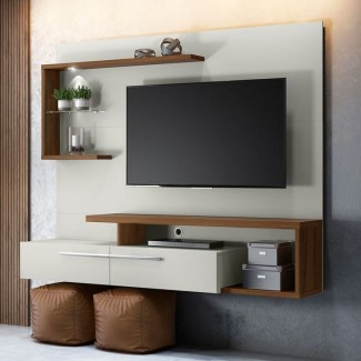 Stylish Bedroom Design Ideas With Tv Wall To Try Asap 25