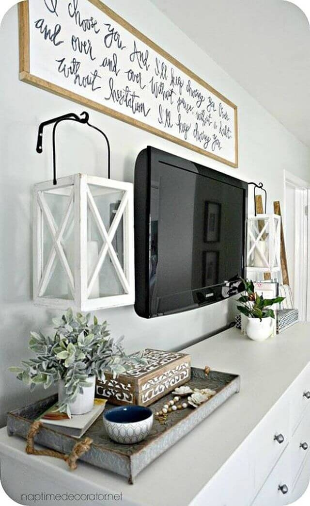 Stylish Bedroom Design Ideas With Tv Wall To Try Asap 27
