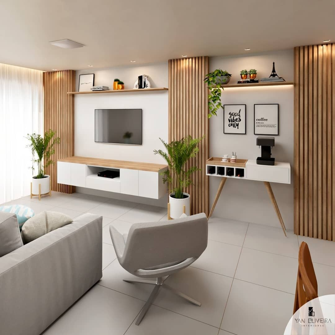 Stylish Bedroom Design Ideas With Tv Wall To Try Asap 28