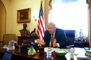 Dennis Hastert, Washington office in March 2007. Credit Doug Mills/The New York Times