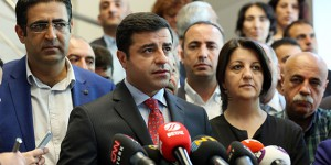 HDP Co-Chairperson Selahattin Demirtaş. (Photo: Today's Zaman, Ali Ünal)