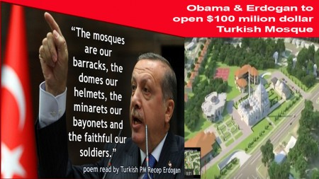 Obama Erdogan opning mosque