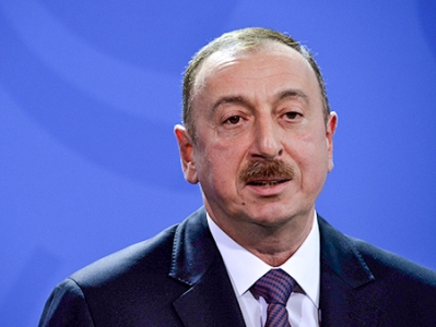 Визит президента Азербайджана Ильхама Алиева в Германию
