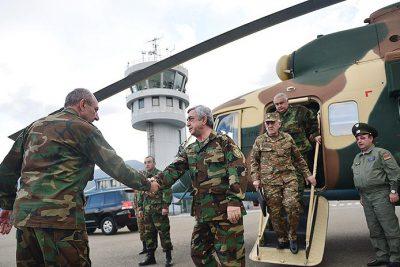 serzh-Sargsyan-karabkh-helicopter-bako