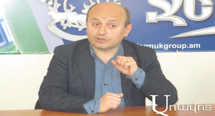Styopa Safaryan Founder & head of research programmes of the Armenian Institute of International and Security Affairs