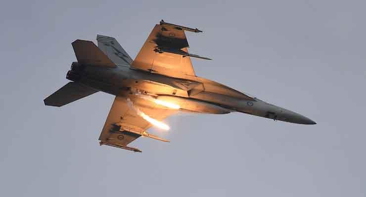 Australia Suspends Syria Air Strikes