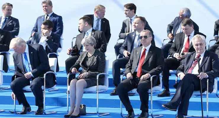 no nato summit in Turkey