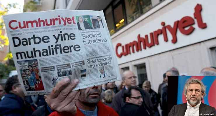 Turkish journalist on Trial