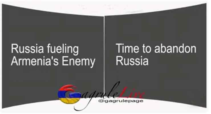 """Russia fueling Armenia's Enemy"""