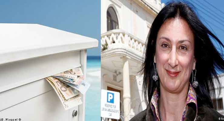 Galizia's alleged that the prime minister and his wife funneled payments from Azerbaijan to offshore accounts