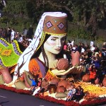 American Armenian Rose Float 2018 Pasadena, California.