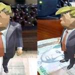 Armenian schoolchildren recreate Trump using new AR platform