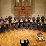 World-famous composer Penderecki's deep choral compositions touch Armenian audience