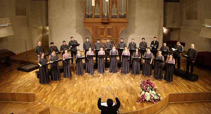 Polish Penderecki's deep choral